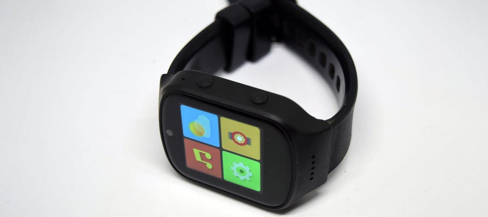 Black Android Watch