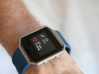 Fitbit Watch on Wrist