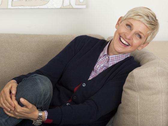 Ellen DeGeneres wearing a Watch