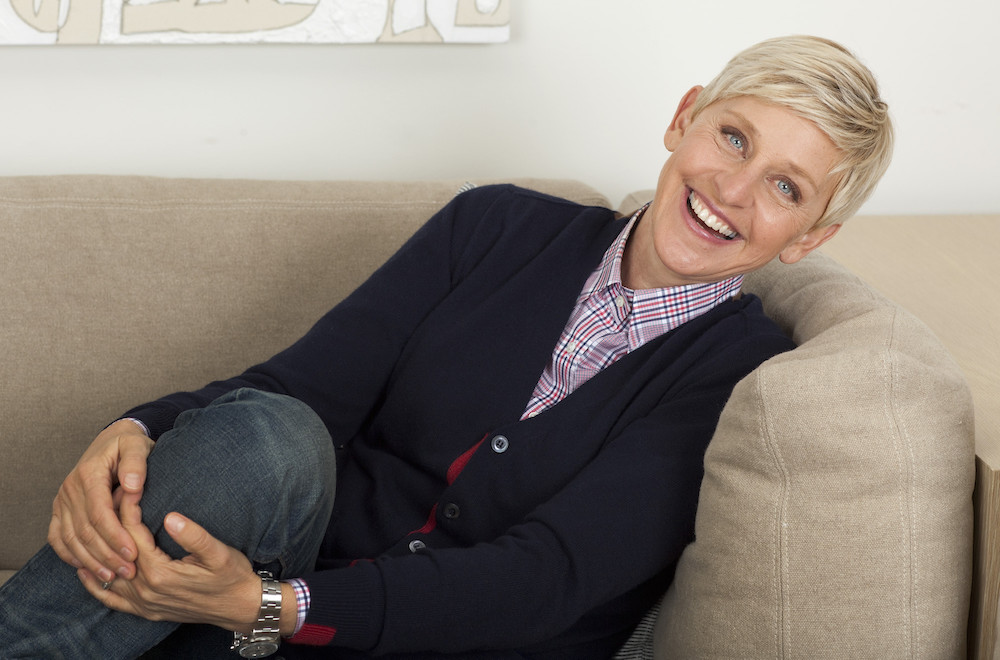 Ellen DeGeneres wearing a Watch