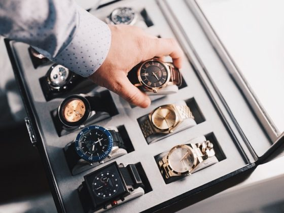 Watches in a Watch Box