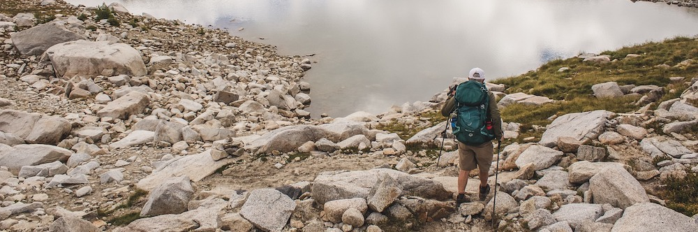 backpacker-near-lake