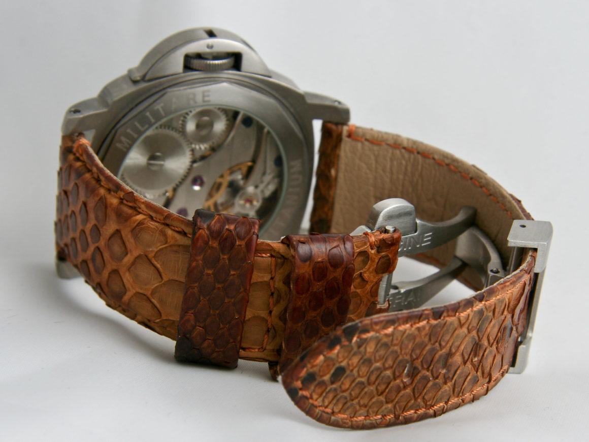 Python-watch-strap