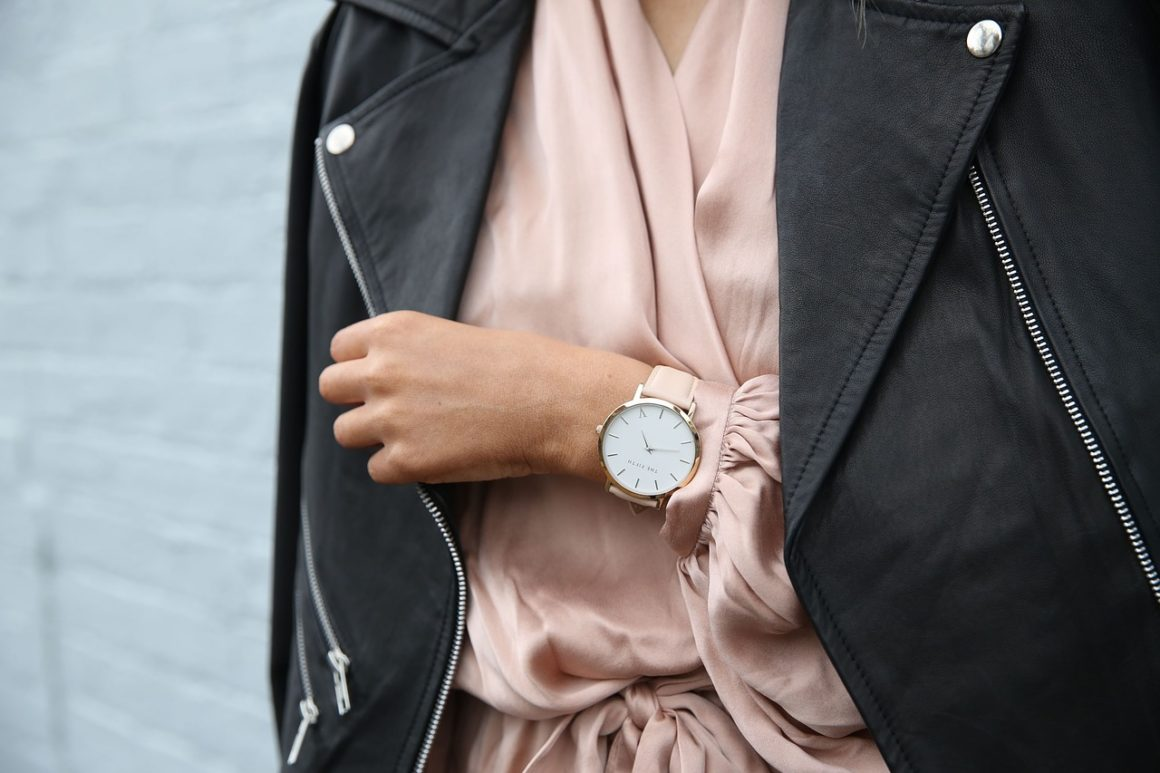 stylish-lady-wearing-watch-and-leather-jacket