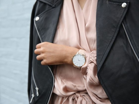 Stylish-lady-wearing-watch