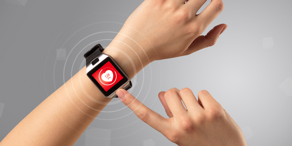 Smartwatch with heart rate