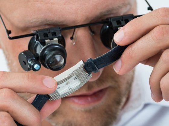 Man Looking on Wrist Watch