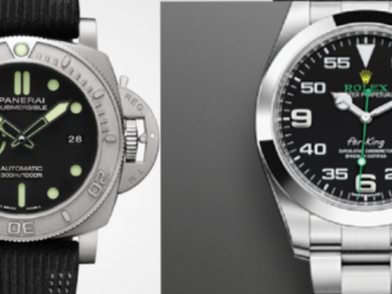Panerai and Rolex Watch