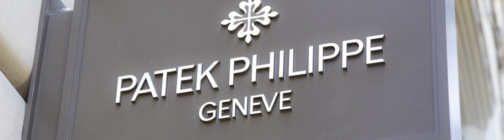 Patek Philippe sign on wall