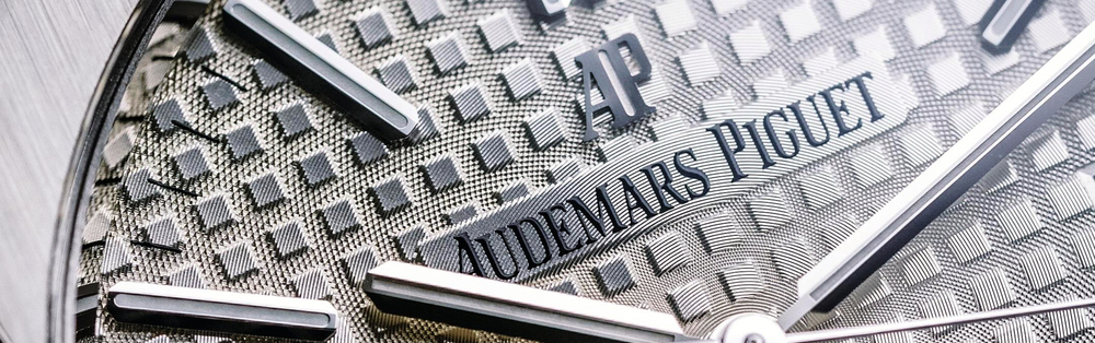 close-up of Audemars Piguet watch