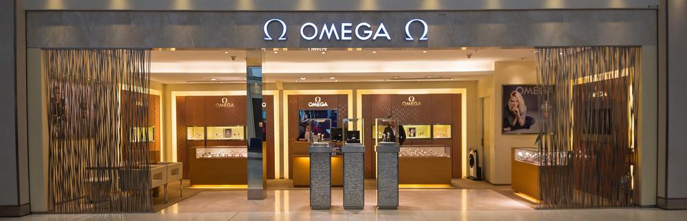 Omega Watchmaker Storefront