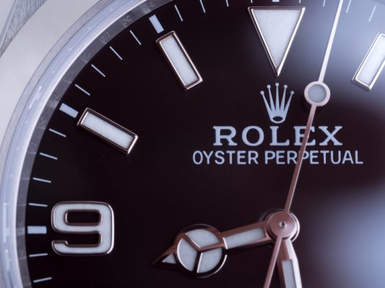 Rolex Oyster Perpetual Close-Up