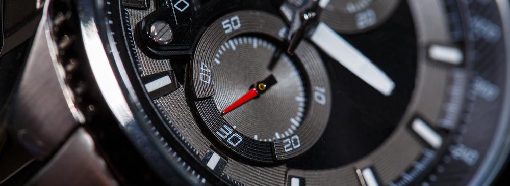 Close up of Chrono Sub-Dials