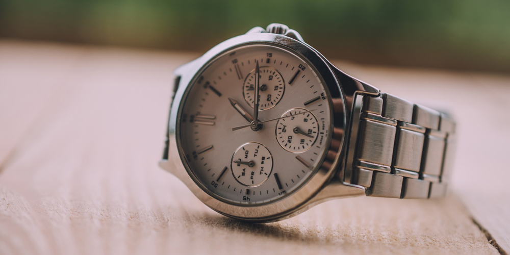 Chronograph wrist watch
