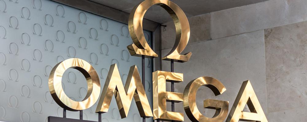 Omega watch logo