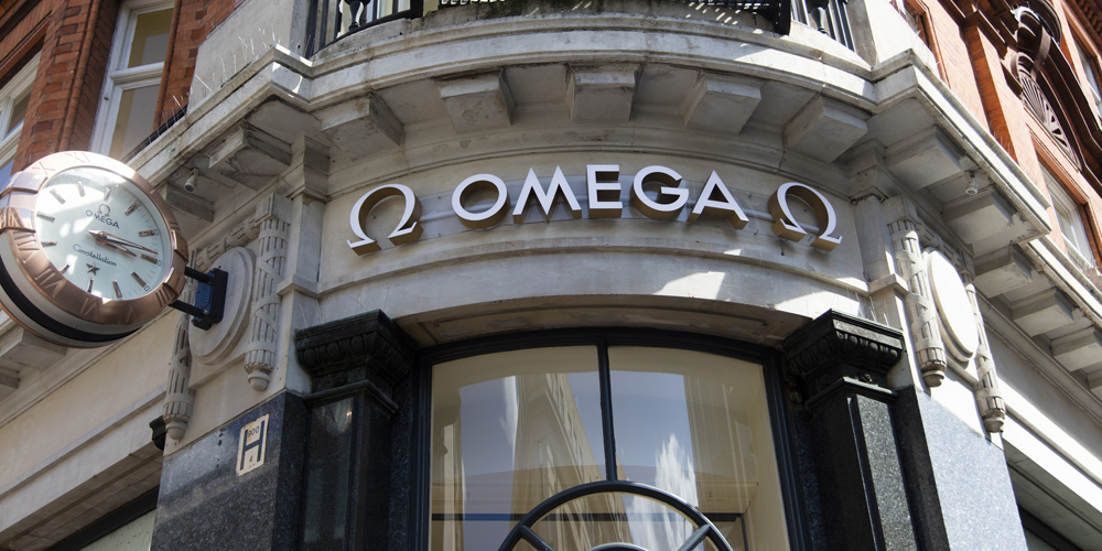 Omega luxury watch shop