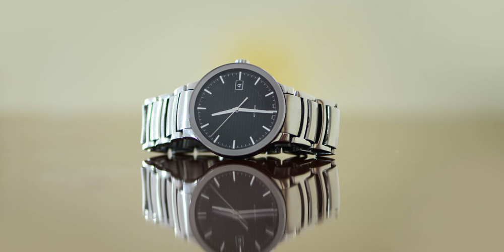 Swiss watch isolated