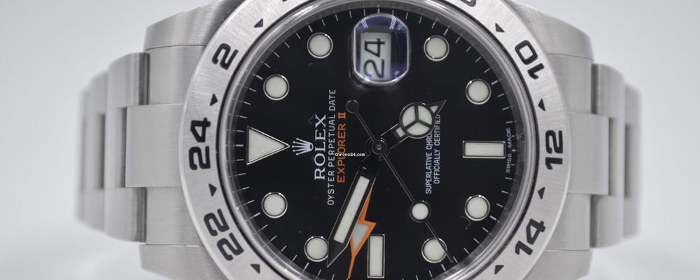 Rolex Explorer II ref 216570