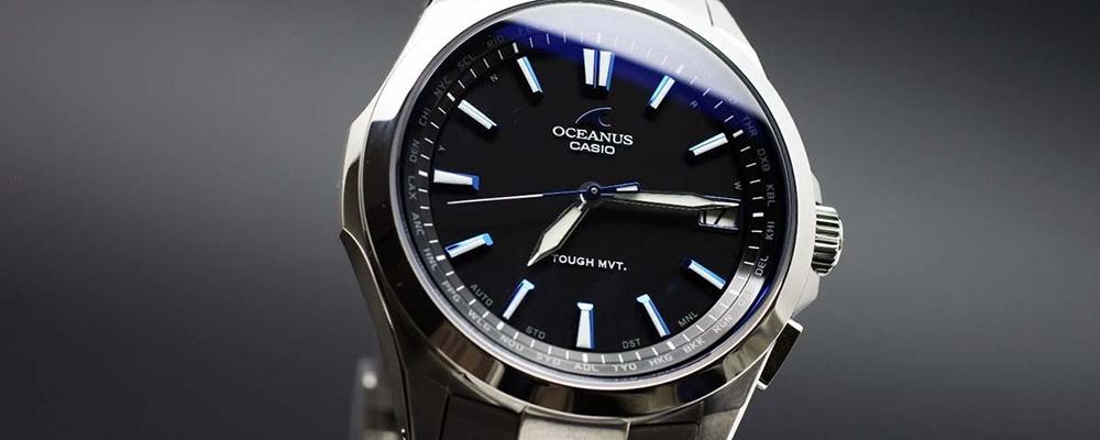 Casio Oceanus wristwatch