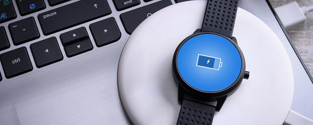 Charging smartwatch