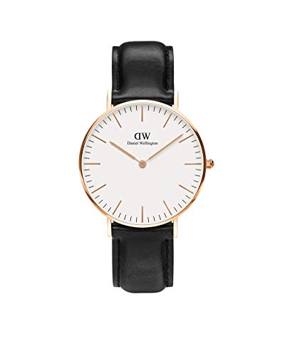 Daniel Wellington Men's 0107DW Classic Sheffield Watch with Black Band