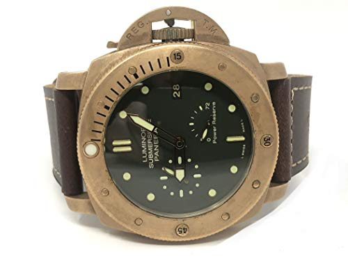Panerai Luminor Submersible Bronzo PAM 507 Green Dial 47MM