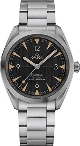 Omega Seamaster Railmaster Automatic Stainless Steel Watch