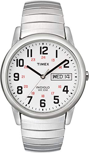 Timex Men's Easy Reader Day-Date Expansion Band Watch
