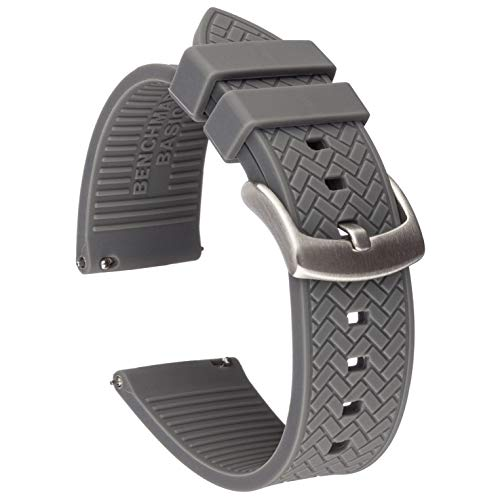 Benchmark Basics Silicone Watch Band