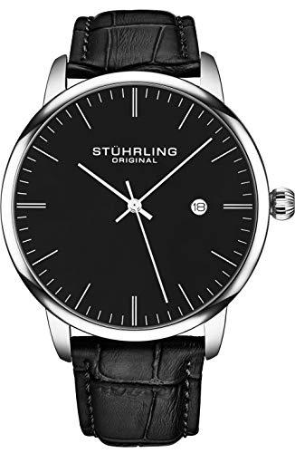 Stuhrling Original Casual Calfskin Watch