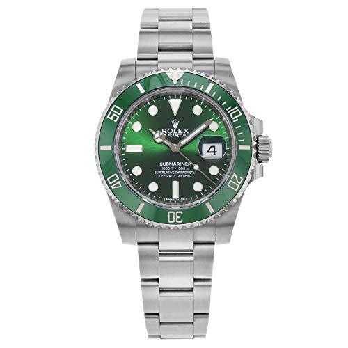 Rolex Submariner 'Hulk' Green Dial Men's Luxury Watch