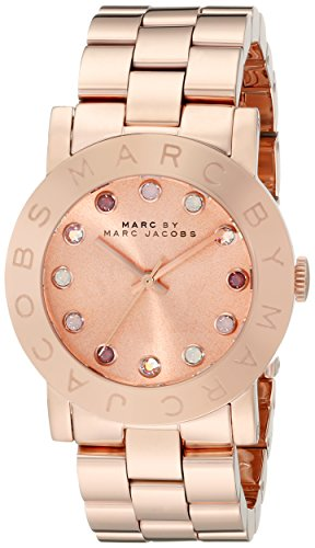 Marc by Marc Jacobs Crystal – Accented Rose Gold-Tone