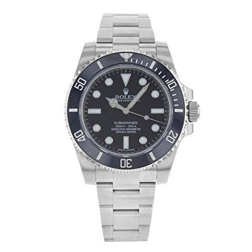 Rolex Submariner Black Dial Stainless Steel Automatic Watch 114060