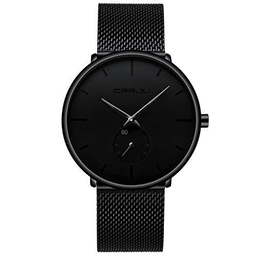 FIZILI Ultra Thin Waterproof Wrist Watch