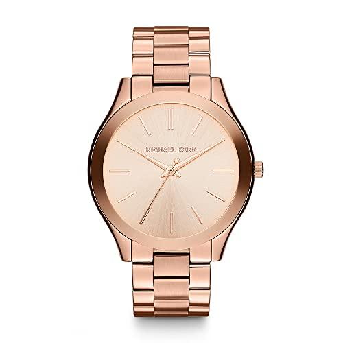 Michael Kors Slim Runway Women's Stainless Steel Watch