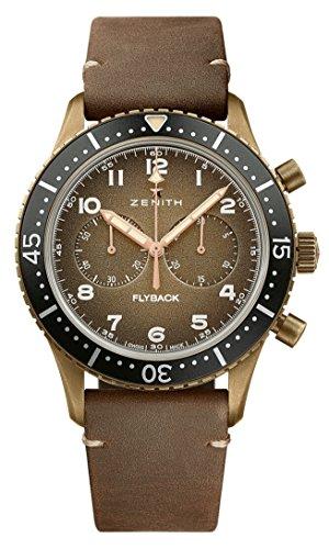Zenithe El Primero 405 B, Automatic Pilot CronoMetro Tipo CP-2 Flyback Bronze Watch