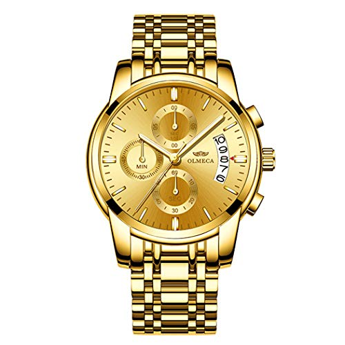 Luxury Fashion Men's Waterproof Watch