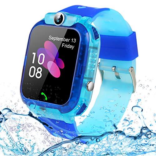 SZBXD Kids Waterproof Watch, LBS/GPS Tracker