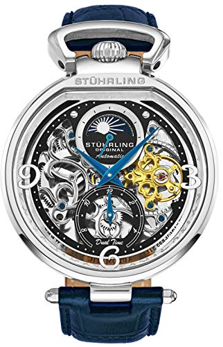 Stührling Original Skeleton Watch