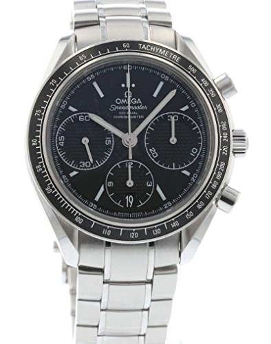 Omega Speedmaster Racing Automatic Chronograph Black Dial Stainless Steel Watch