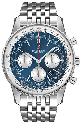 Breitling Navitimer 1 B01 Chronograph 46 Blue Dial Watch