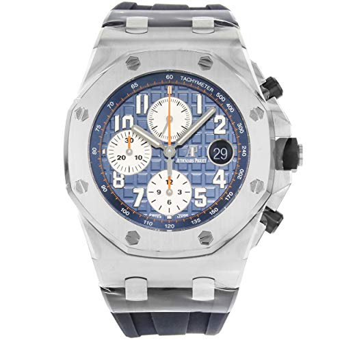 Audemars Piguet Royal Oak Offshore Blue Dial Chronograph Watch 26470STOOA027CA01