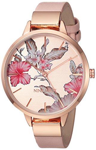 Nine West Floral Rose Watch