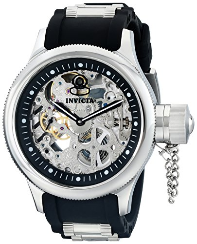 Invicta Russian Diver Skeleton Watch