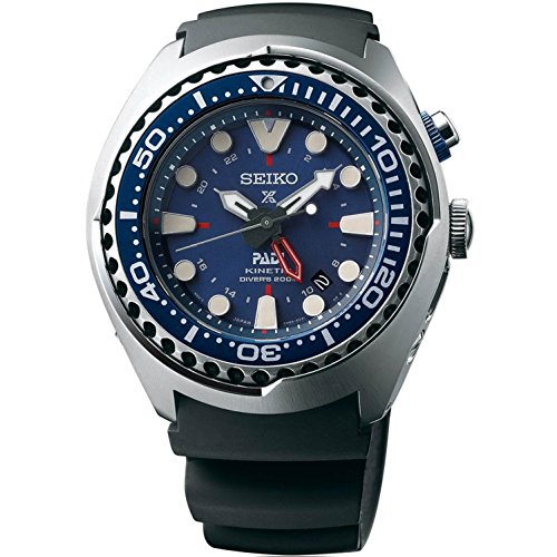 Seiko Special Edition Padi Kinetic Diver GMT Watch