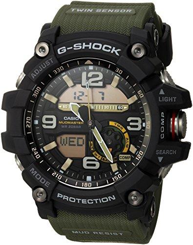 Casio Men's GG-1000-1A3CR Mudmaster G-SHOCK Quartz Casual Watch