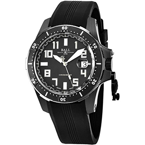 Ball Engineer Hydrocarbon Watch - Black Dial Steel Case Automatic
