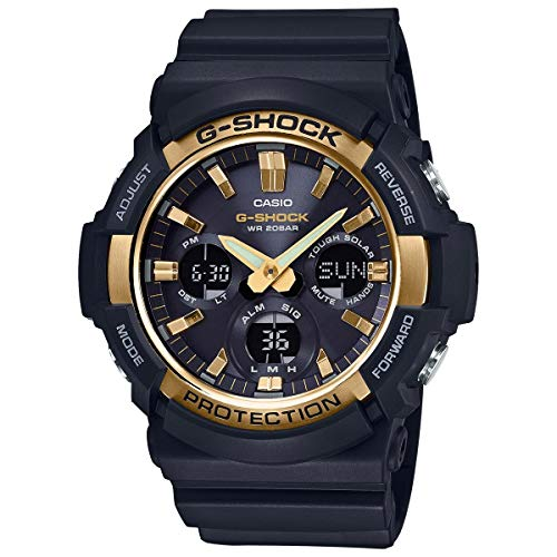 Casio G-Shock GAS100G-1A Tough Solar Resin/Stainless Steel Men's Watch