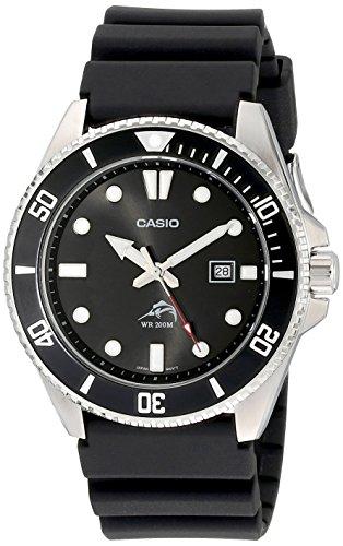 Casio Men's Analog Anti Reverse Bezel Watch