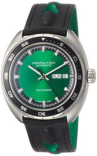Hamilton American Classic Pan Europ Green Dial Automatic Men's Watch
